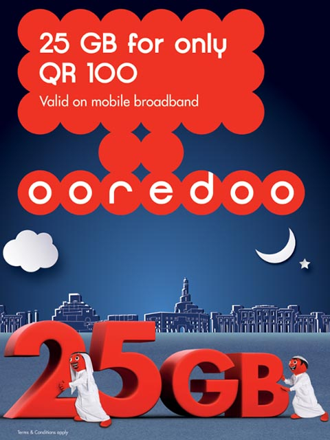 Ooredoo offers 50% off boosted 25 GB MBB plan for 12 months